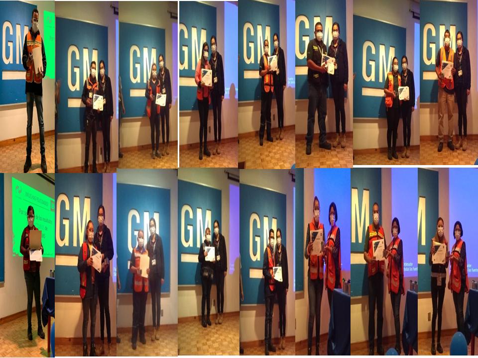 Global Facility GM reconoce a los colaboradores de Lyrba por resultados satisfactorios obtenidos en auditoria Sistema Global de Manufactura