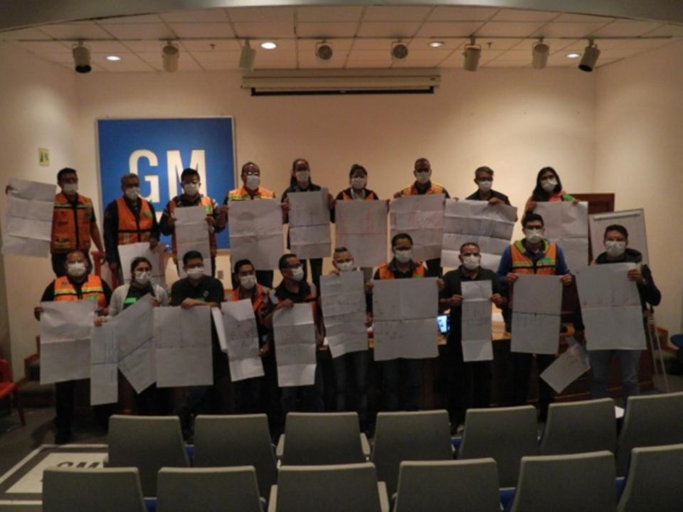 Curso de Liderazgo para Jefes y Líderes de Operación en GM Silao, Gto.